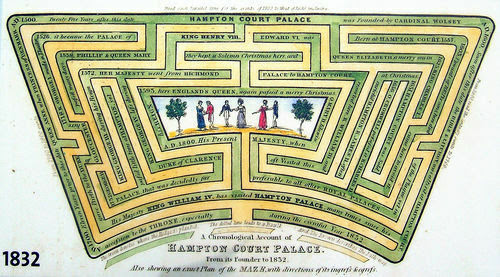 Image result for hampton court maze images