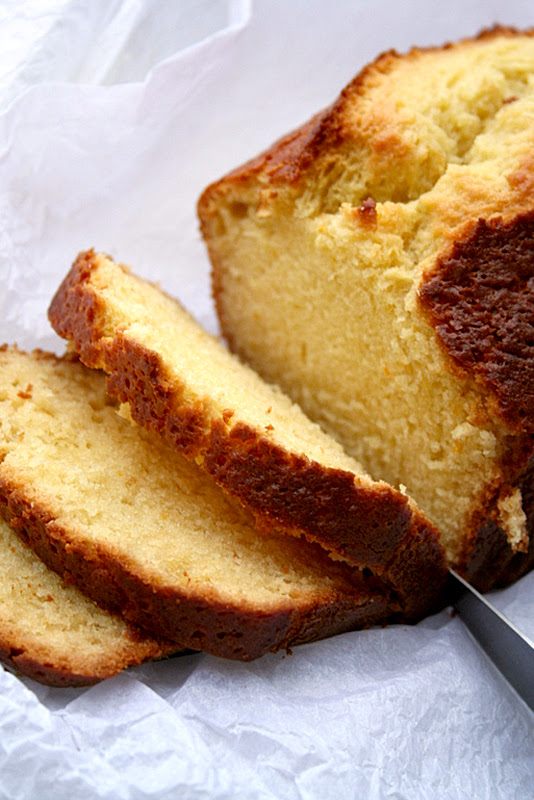 Olive oil & Orange Pound cake
