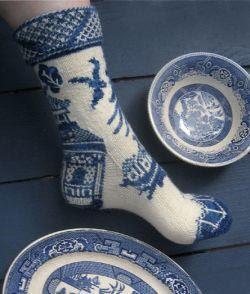 ironychan:  Willow Ware Sock