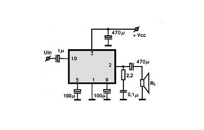 Усилитель звука на микросхеме LA4265