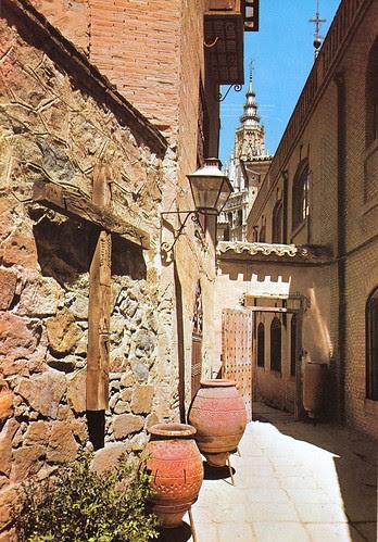 Pasadizo de Balaguer de Toledo hacia 1960