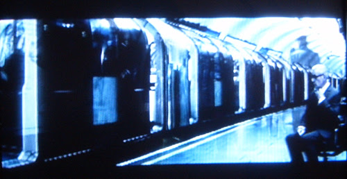 Ian McKellen on the Tube - screengrab