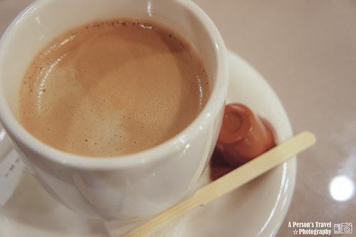 咖啡要在晚餐後