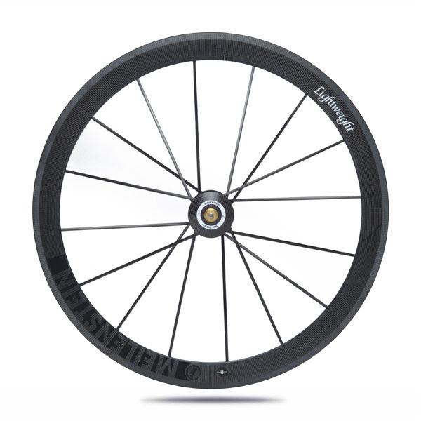 Lightweight Meilenstein Generation 4 tubular front wheel