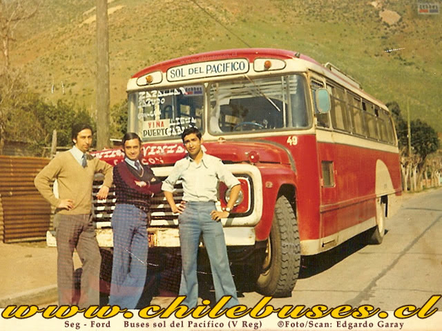 1975 Ford Buses Soldel Pacifico 49