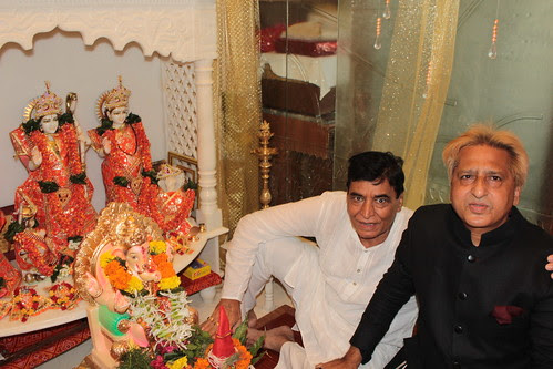 Mr Jagan Chawlas House Ganpati 2012 by firoze shakir photographerno1