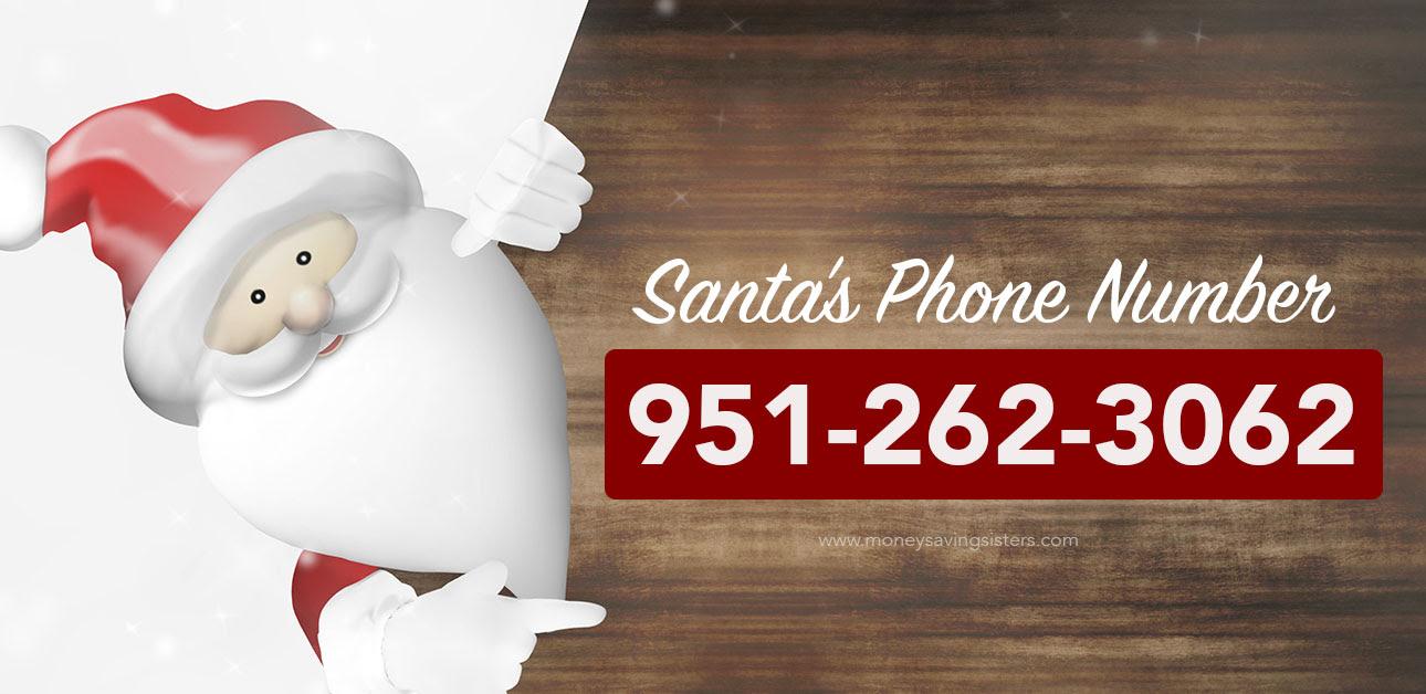 Call Santa Claus - Here's his Phone Number! - Money Saving ...