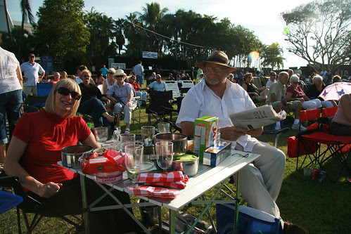 Jessie and Rod at James Morrison jazz