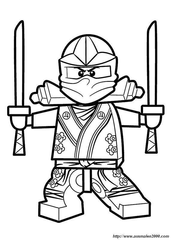 ninjago ausmalbilder kai