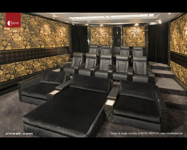 CINEAK Fortuny & Cosymo Home Theater - modern - media room - - by ...