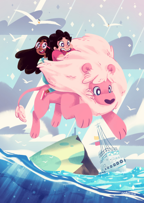 Steven Universe Lion Wallpaper