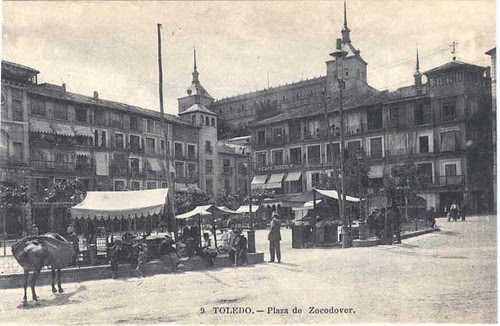 Mercado en Zocodover