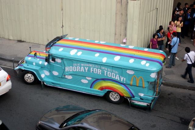 So cute, this jeepney!