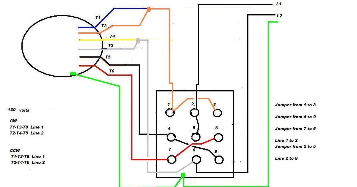 Wiring Manual Pdf  110 Single Phase Motor Wiring Diagrams
