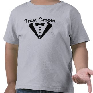Team Groom (Tux) shirt