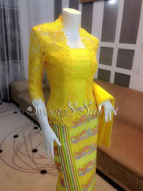 Myanmar dress   myanmar dress   Batik dress, Batik kebaya