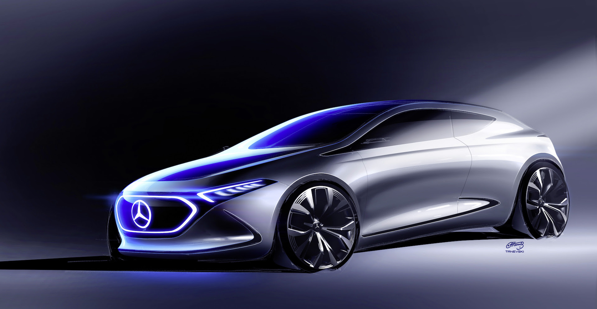 Latest image shows shape of Mercedes EQA compact electric ...