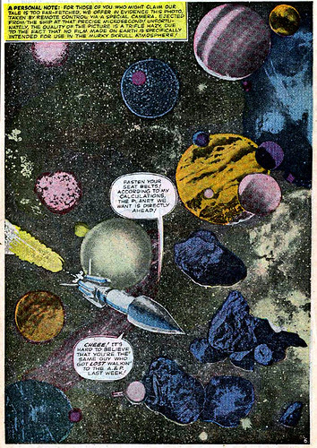 Jack Kirby photomontage from Fantastic Four #37 (April 1965)