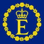 Personal flag of Queen Elizabeth II.svg