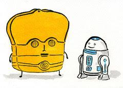 T3PO & Joe2D2