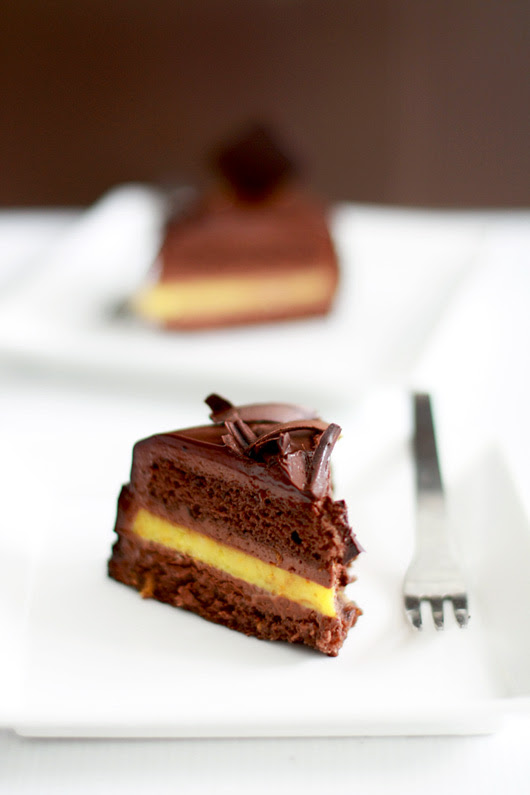 Orange Chocolate - Cut