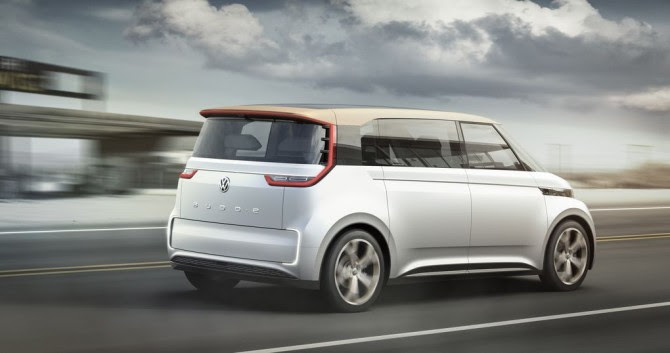 Could this be the surf van of the future? Photo courtesy of VW