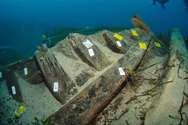 Υποβρύχια Ανασκαφή σε ναυάγιο του 16ου αιώνα στο λιμάνι Ζακύνθου