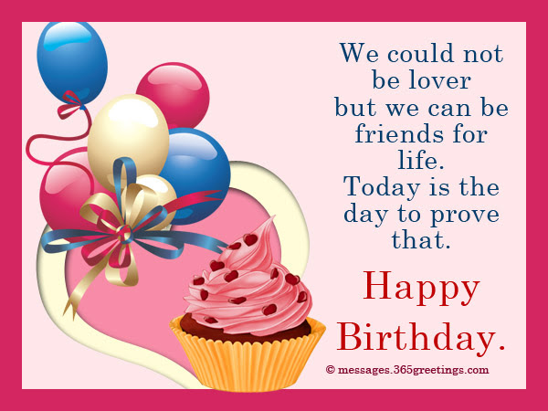Birthday Wishes For Ex Boyfriend 365greetingscom
