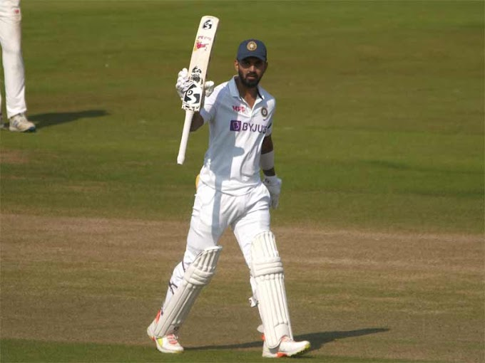 Practice Match: KL Rahul 'warms up' with fine hundred