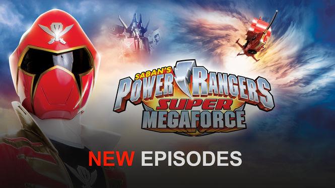 Power Rangers Super Megaforce | filmes-netflix.blogspot.com