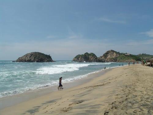 Playa de Maruata y Colola, Michoacan, méxico, santuario