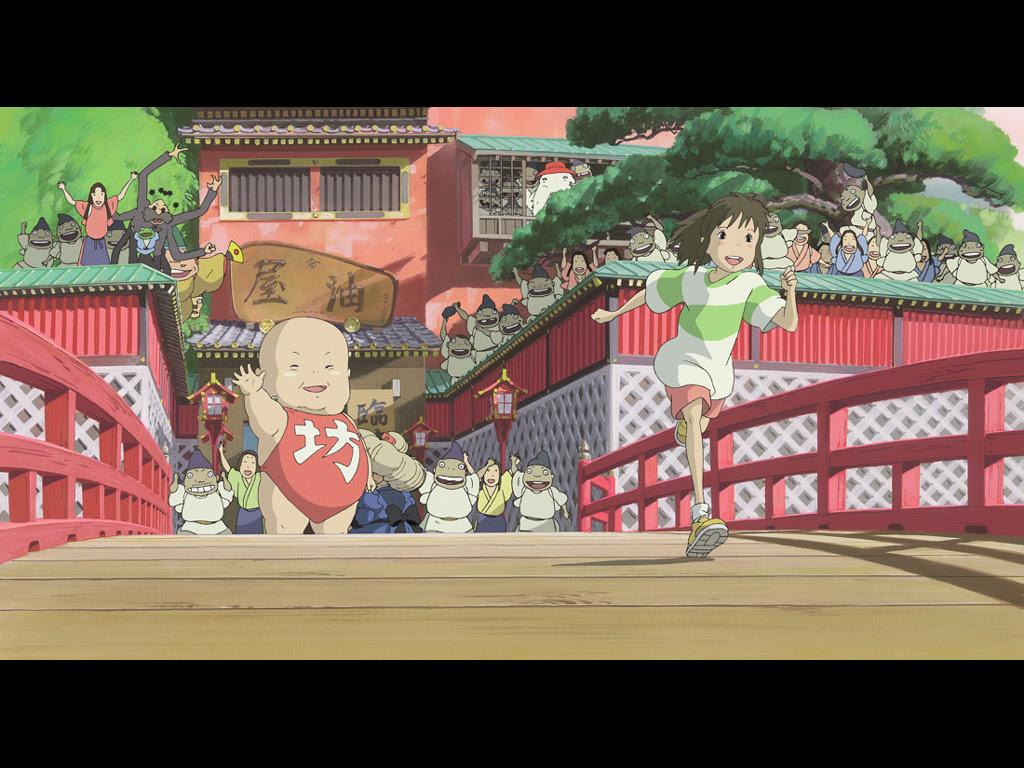 Pin De Samier Em Anime A Viagem De Chihiro