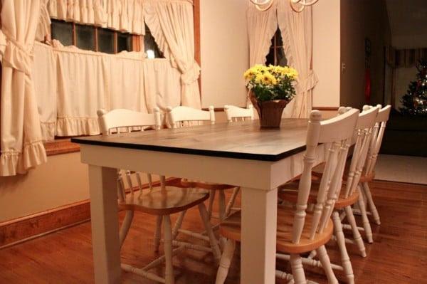 Remodelaholic   DIY Farmhouse Table Tutorial