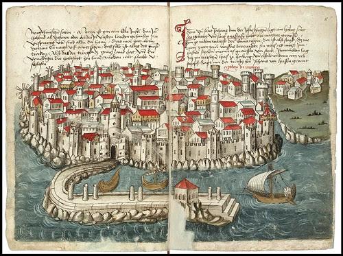 Konrad von Grünenberg - Beschreibung der Reise von Konstanz nach Jerusalem 1487 k
