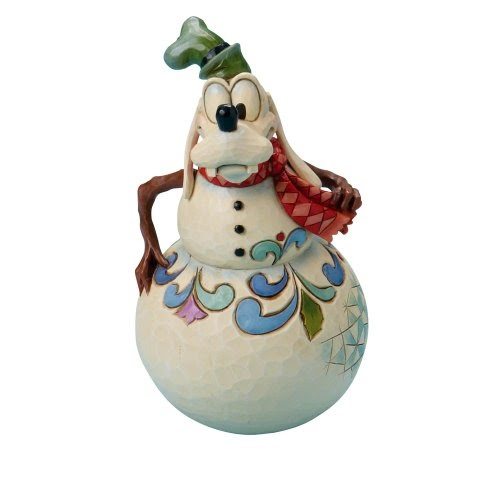Sales Disney Traditions By Jim Shore 4016575 Swaying Snowman Figurine Goofy 6 Inch Disney Traditions Designed By Jim Shore For Enesco Frankengoofy