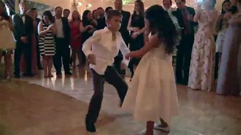 Kids Wedding Dance Off   YouTube