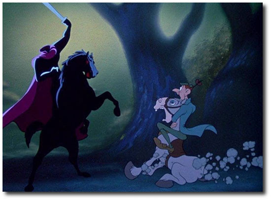 Disney's Sleepy Hollow | Headless horseman | Tacky Harper's Cryptic Clues