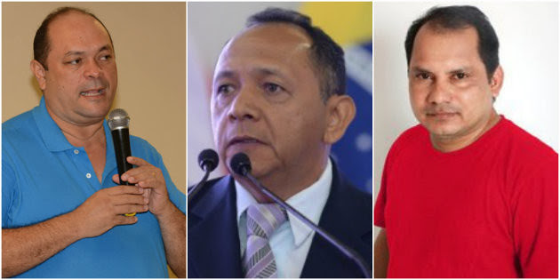 A pedido de Alexandre Von, Justiça Eleitoral censura matéria do Blog do Jeso na TV, foto de Alexandre Von, Luiz Alberto e Márcio Pinto