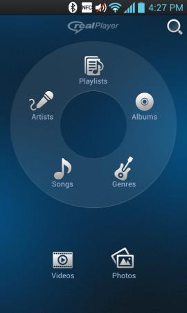 Real Player para Android está disponível de graça (Foto: Reprodução)