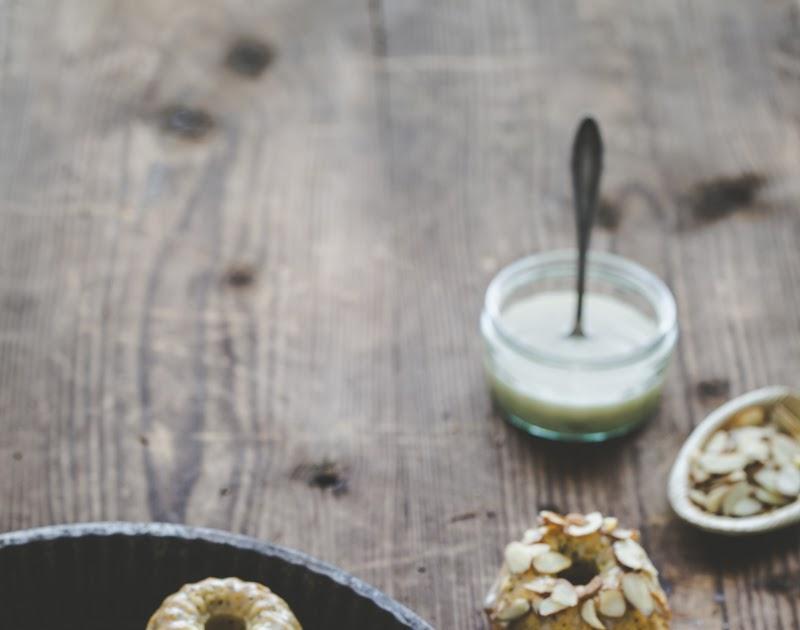 Poppy Seed & Chai Mini Cakes with a Chai Cream Glaze