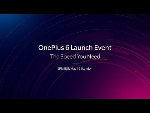 Watch the OnePlus 6  livestream here