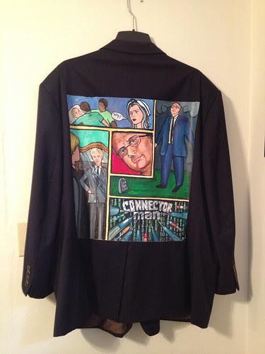 """""""Connector Man"""" a jacket for Jerry Matczak"""