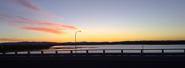 Sunset - Ted Smount Bridge