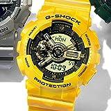 Gショック(G-SHOCK) メンズ時計(カモフラGA110モデル)【イエロー/1サイズ】