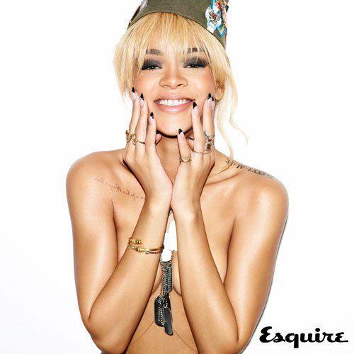 Esquire UK - July 2012, Rihanna