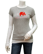 Amy Tangerine I Love Republicans Tee
