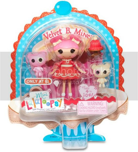 Valentine and Spring Mini Lalaloopsy 2014