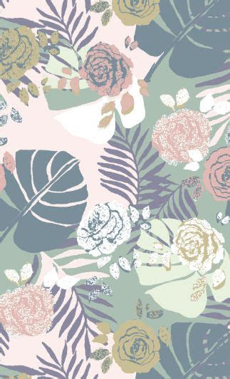 pattern   pastel background wallpapers trendy wallpaper pattern flower background