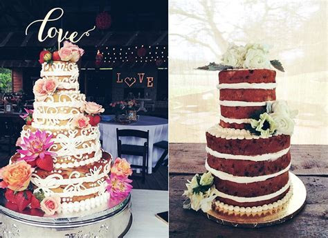 Naked Cakes from Austin Cake Artists