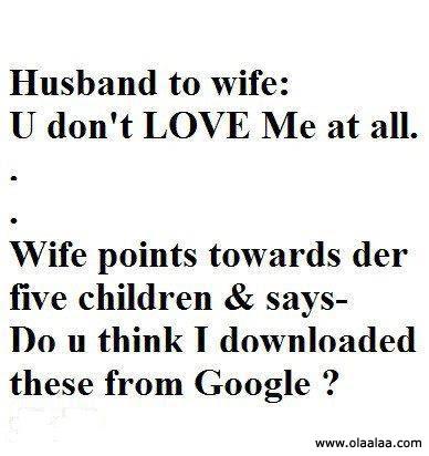Kisah Lawak Suami Isteri